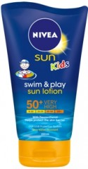 NIVEA SUN SWIM & PLAY PROTECTION LOTION SPF 30 150ml Heigt: 14,8cm
