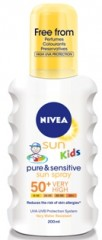 85847 Kids Pure + Sensitive Spray 200ml 50+
