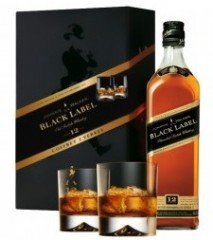 johnnie-walker-whisky-black-label-2-pahare-700ml