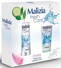 malizia-fresh-care-set-deodorant-spray-original-24h-invisible-150-ml-duschgel-250-ml