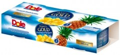 BUCATI DE ANANAS IN SUC 3X227G TROPICAL GOLD DOLE