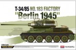Academy 13295 T-34_85 No.183 Factory Berlin 1945 14.06.2018