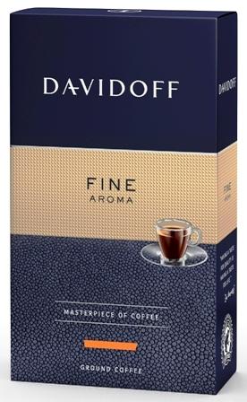Davidoff Cafe Fine Aroma_cafea prajita si macinata_250g_DREAPTA